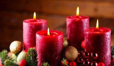 Höheres Brandrisiko in der Weihnachtszeit