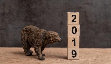 Deutsche Anleger blicken skeptisch auf 2019