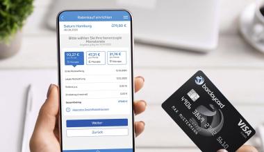 Barclaycard startet Kreditkarte mit Ratenkauf-Option