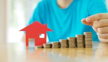 Immobiliendarlehen fallen immer höher aus