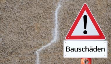 Bauschäden und Schadenskosten in Deutschland nehmen stark zu