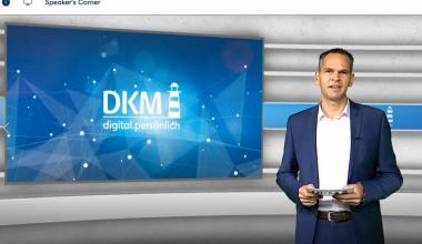 Die DKM 2020 digital.persönlich ist eröffnet