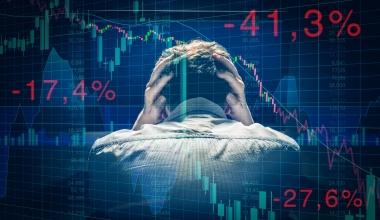 Wegen COVID-19: Anlegervertrauen bricht ein