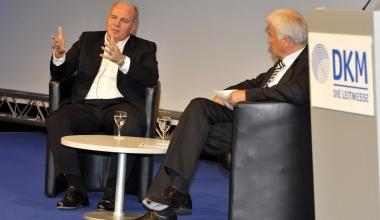 DKM-News: Talk über Fußball in guten wie in schlechten Zeiten