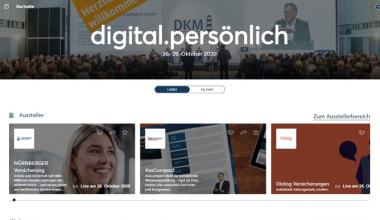 DKM News: Die digitale Messeplattform ist geöffnet