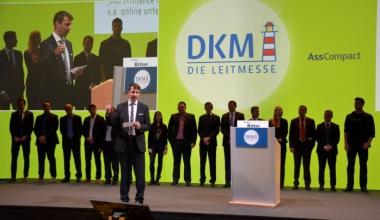 Jungmakler Awards 2014 auf der DKM verliehen