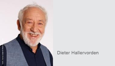 Dieter Hallervorden ist neuer Pflegebotschafter der Allianz