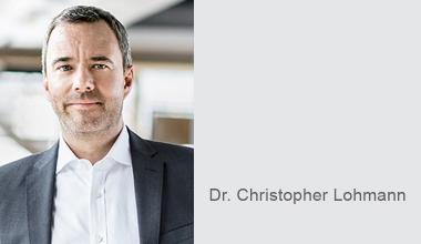 AMICE: Dr. Christopher Lohmann neuer Vizepräsident