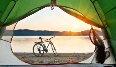 Gut abgesichert mit dem Fahrrad auf Reisen