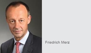 DKM-News: Politisches in der Speaker's Corner – Friedrich Merz