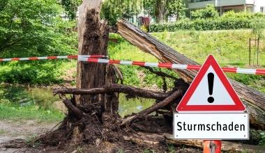 GDV: 2018 voraussichtlich eines der fünf schwersten Sturmjahre