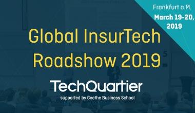 Frankfurter Global InsurTech Roadshow mit hochkarätiger Besetzung