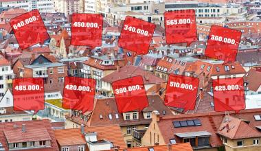 So (un-)attraktiv ist der Wohnungsmarkt in Westdeutschland