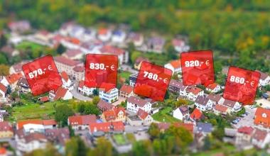 So stark sind Immobilienpreise in deutschen Städten gestiegen