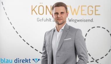 blau direkt kooperiert mit Finanz-Start-up KÖNIGSWEGE