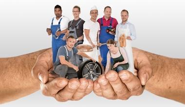 Wenn Handwerker-BU, dann beim Münchener Verein