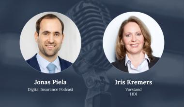 Iris Kremers zu Gast beim Digital Insurance Podcast