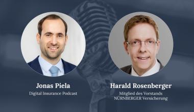Harald Rosenberger zu Gast beim Digital Insurance Podcast
