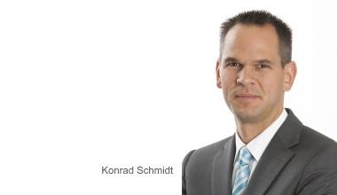 In eigener Sache: Konrad Schmidt weiterer bbg-Geschäftsführer