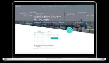 Immobilienmarktplatz Scoperty startet Service in weiteren deutschen Städten
