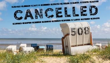 Corona-Eindämmung: Auch kein Home-Office im Strandkorb
