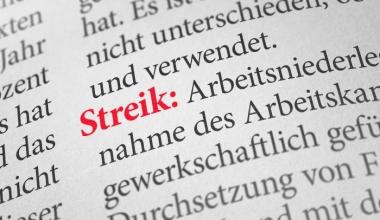 Kein Versicherungsschutz in der gesetzlichen Unfallversicherung bei Streik