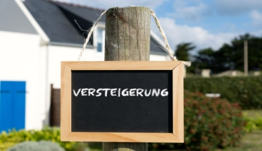Deutlich weniger Zwangsversteigerungen in Deutschland