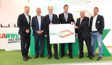 WWK übernimmt Namensrechte am Augsburger Fußballstadion