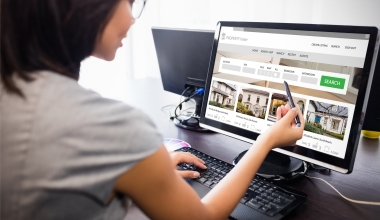 So lange sind Immobilienangebote im Schnitt online