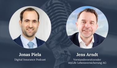 Jens Arndt zu Gast beim Digital Insurance Podcast