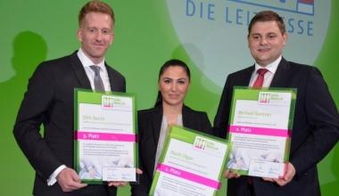 Jungmakler Award 2015 auf der DKM verliehen