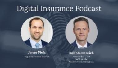 Ralf Oestereich zu Gast beim Digital Insurance Podcast