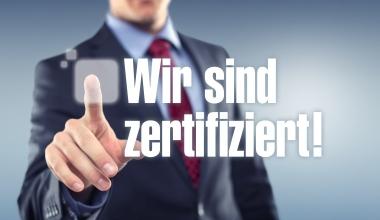 """""""Alle unsere Berater sind durch DEFINO nach DIN-Standard zertifiziert"""""""
