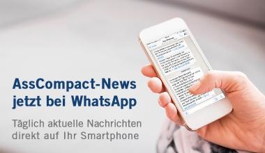 News von AssCompact jetzt auch per WhatsApp & Co.