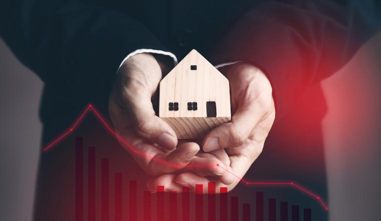Wo schlägt die Corona-Krise bei Immobilien zu?