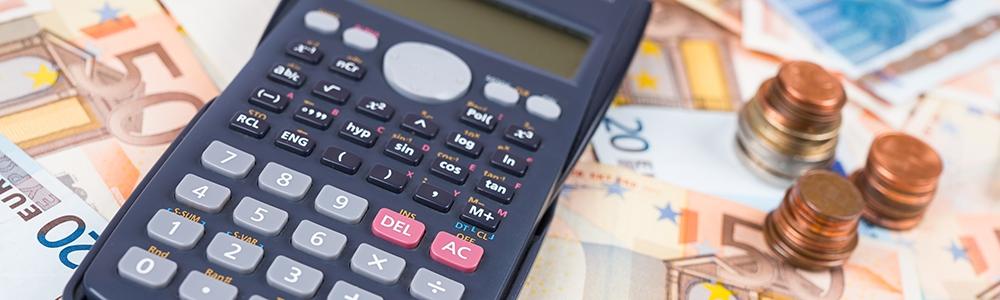 Kontakt- und Preisrechner